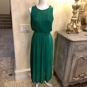 Princess Green Sleeveless Dress